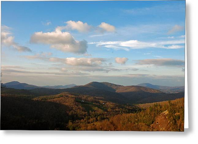 Big Sky In Cashiers Greeting Card by Allen Carroll