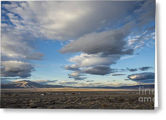 Big Sky In Nevada Greeting Card by Dianne Phelps