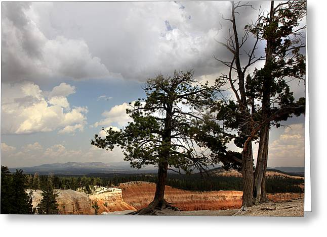 Big Sky Over Bryce Canyon Greeting Card by Joseph G Holland