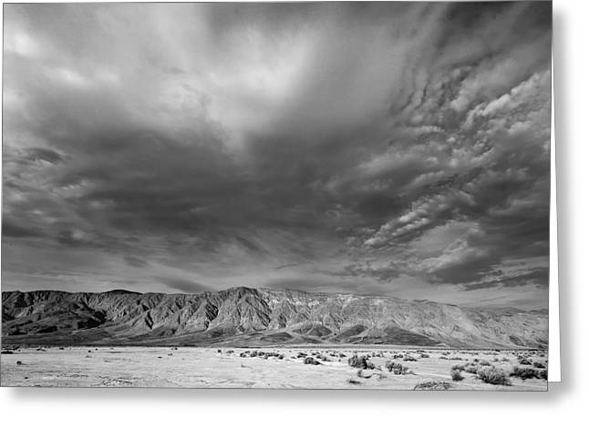 Big Sky Greeting Card by Peter Tellone