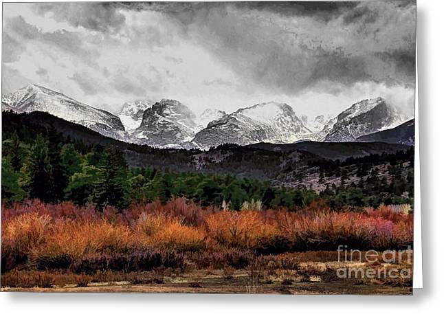 Big Storm Greeting Card by Jon Burch Photography