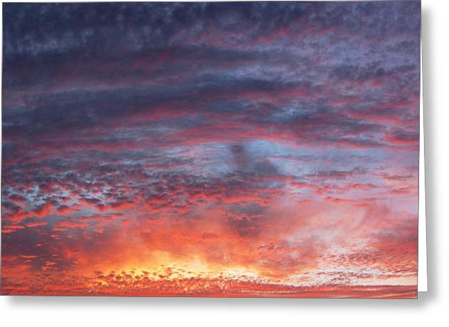Big Sunset  Greeting Card