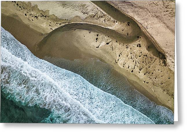 Big Sur Aerial Greeting Card