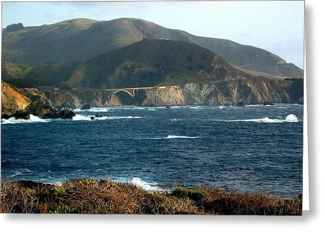 Big Sur Bridge Greeting Card