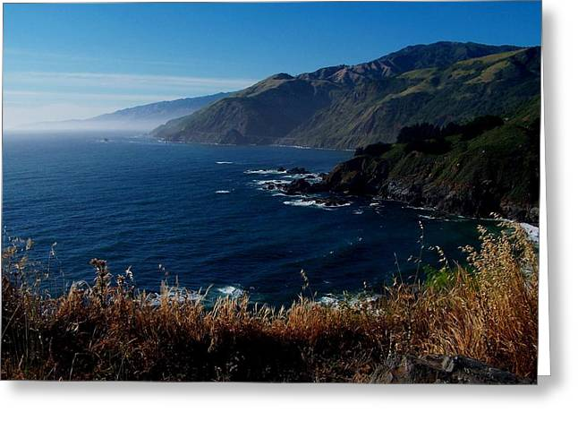 Greeting Card featuring the photograph Big Sur by Christine Drake