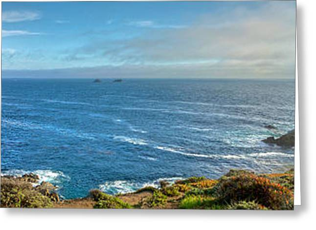 Big Sur Coast Pano 2 Greeting Card