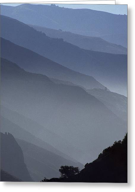 Big Sur From The North Greeting Card by Austin Brown