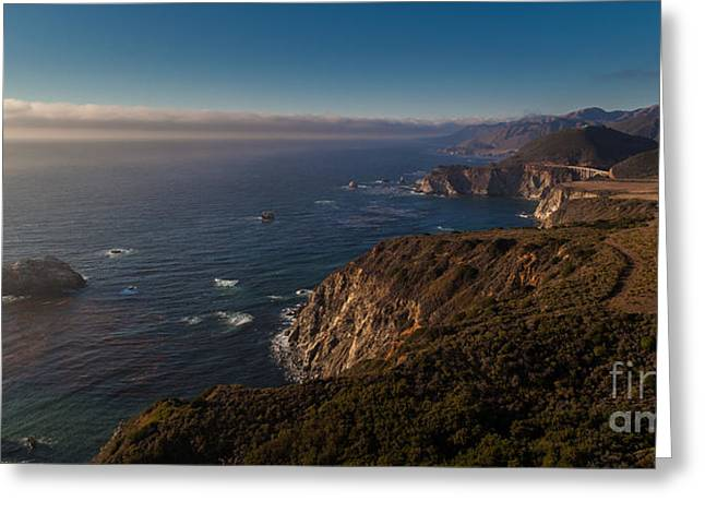 Big Sur Headlands Greeting Card