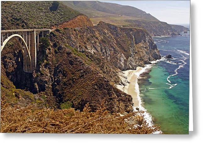 Greeting Card featuring the photograph Big Sur by Rod Jones