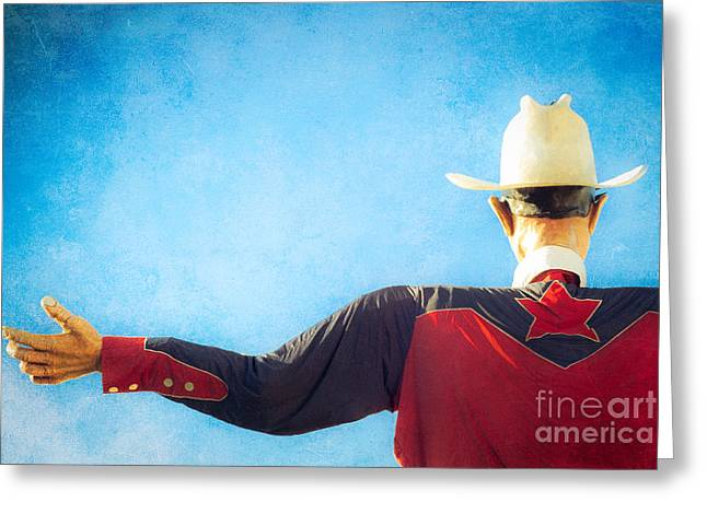 Big Tex Lives On Greeting Card