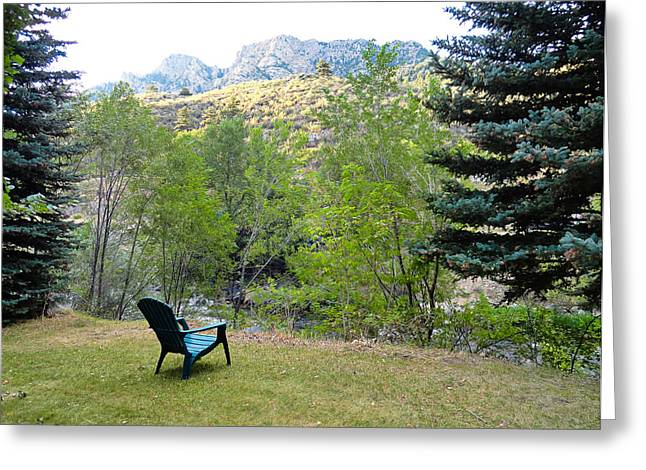 Big Thompson Canyon Pre Flood Moment 1 Greeting Card by Robert Meyers-Lussier