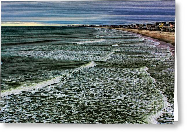 Big Water Greeting Card by Dave Bosse