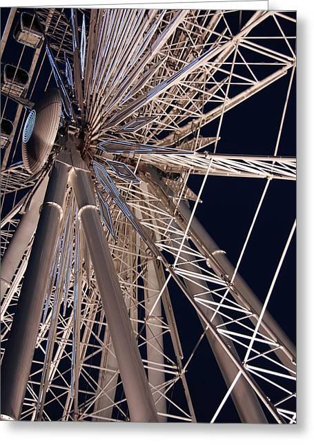 Big Wheel Greeting Card by John Schneider