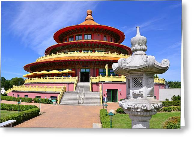 Biggest Chinese Restaurant In Europe - Himmels Pagode Greeting Card