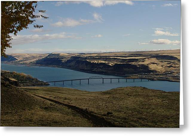 Biggs Junction On The Columbia River Greeting Card