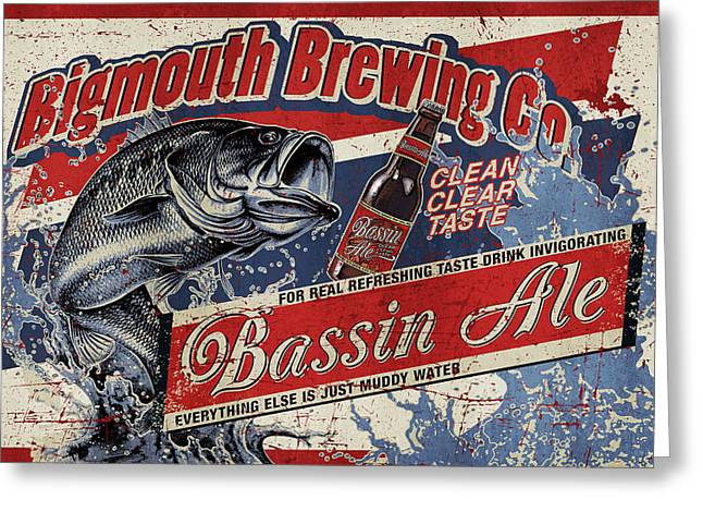 Bigmouth Brewing Greeting Card by JQ Licensing