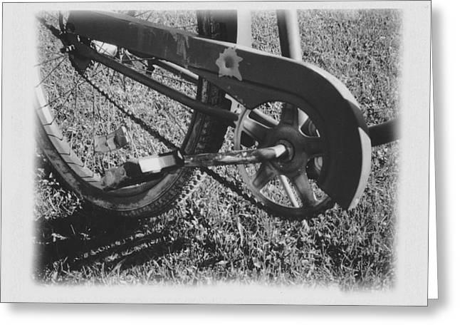 Bike Greeting Card by Brady D Hebert