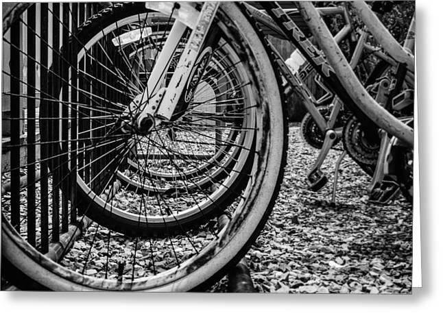 Bike Rack Greeting Card