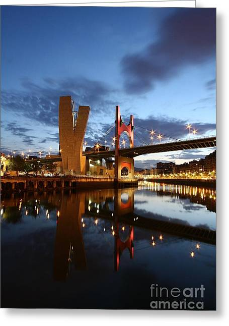 Bilbao 4 Greeting Card