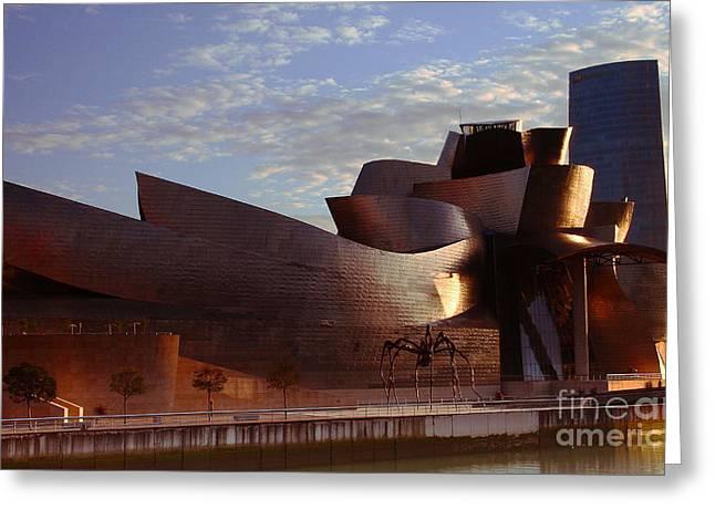 Greeting Card featuring the photograph Bilbao by Mariusz Czajkowski