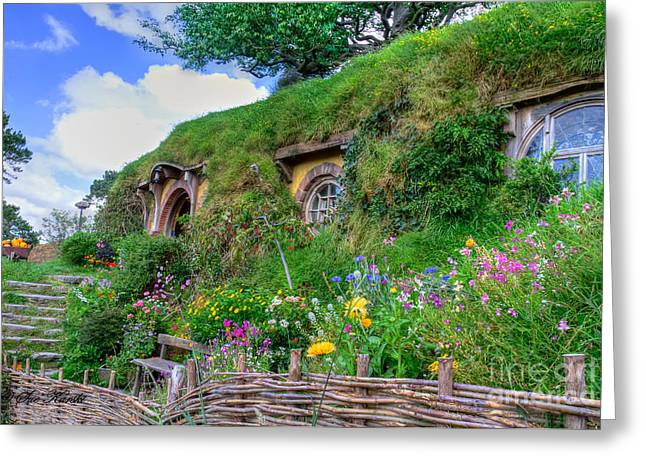 Bilbo Baggins House 1 Greeting Card