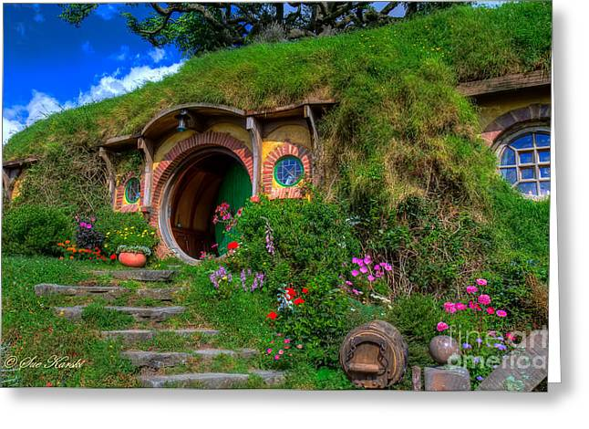 Bilbo Baggin's House 5 Greeting Card