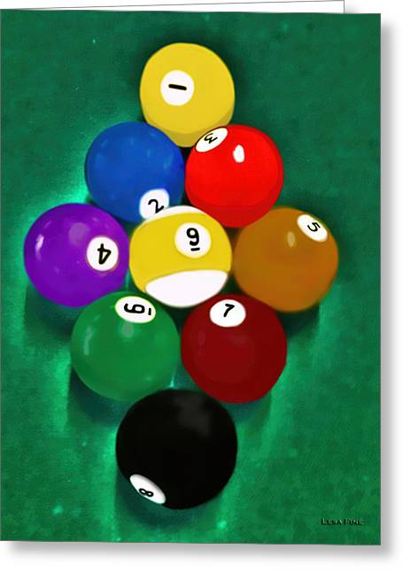 Billiards Art - Your Break 1 Greeting Card