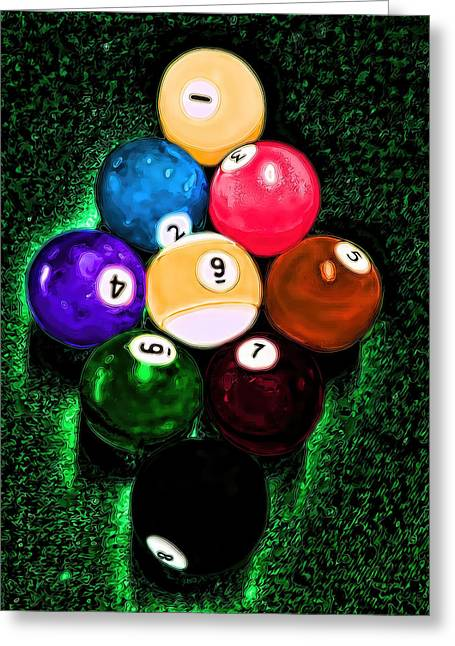 Billiards Art - Your Break Greeting Card