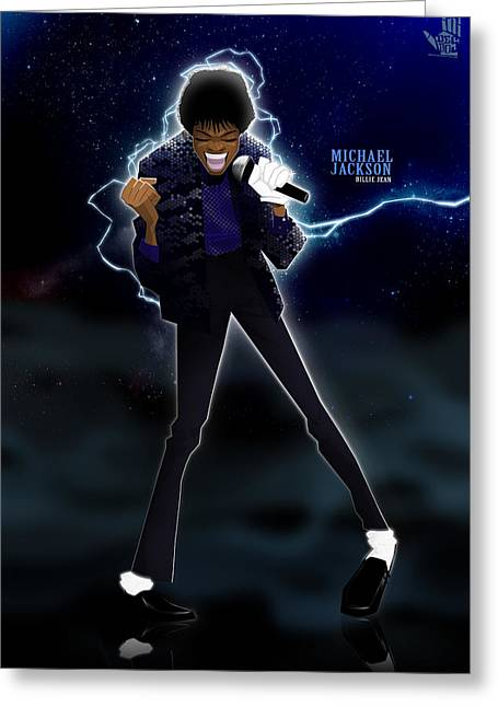 Billie Jean Greeting Card