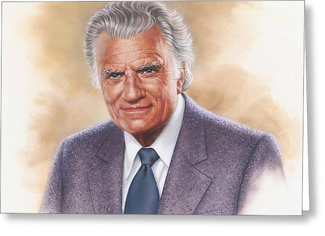 Billy Graham Evangelist Greeting Card