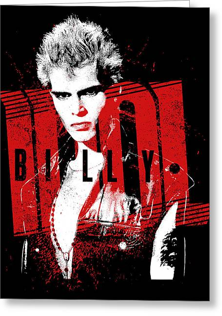 Billy Idol - Billy Greeting Card by Epic Rights