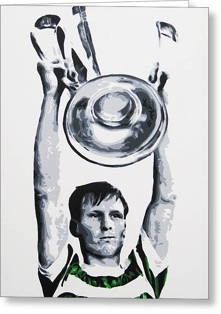 Billy Mcneill - Glasgow Celtic Fc Greeting Card