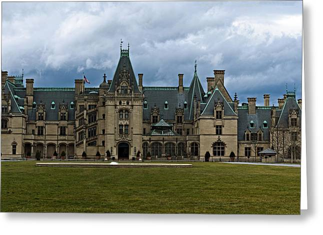 Biltmore Estate Greeting Card by Christopher Gaston