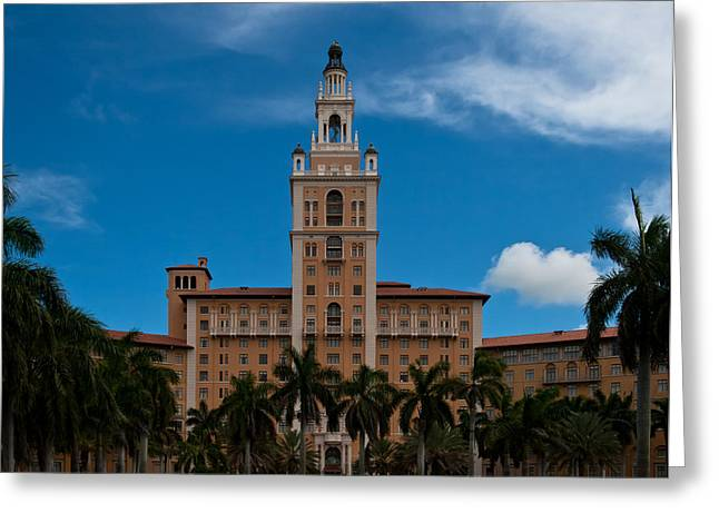 Biltmore Hotel Coral Gables Greeting Card