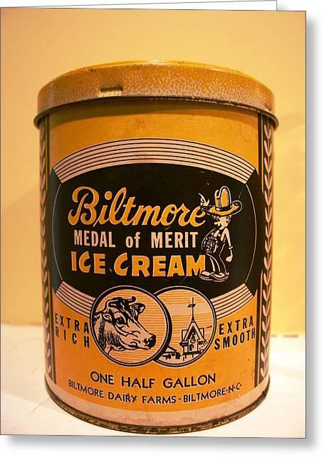 Biltmore Ice Cream Greeting Card