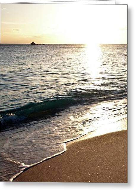 Bimini Beach Greeting Card by Susan Bryant