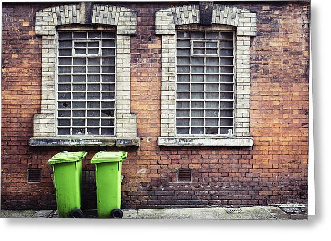 Bin Day Greeting Card