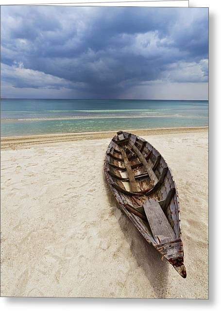 Bintan Beach Greeting Card by Chad Ward