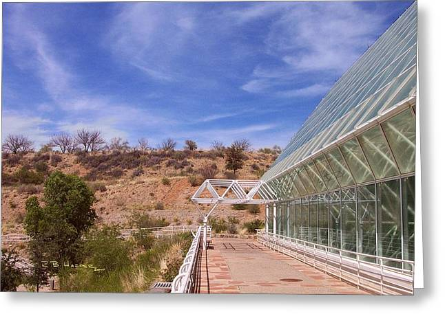 Biosphere 2 Greeting Card