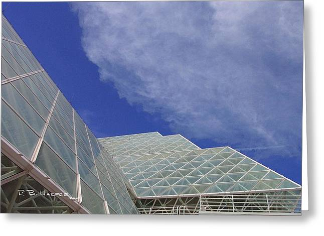 Biosphere 2 Glazing Greeting Card