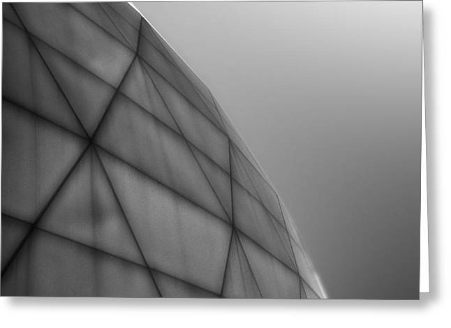 Biosphere2 - Dome Greeting Card by Gregory Dyer