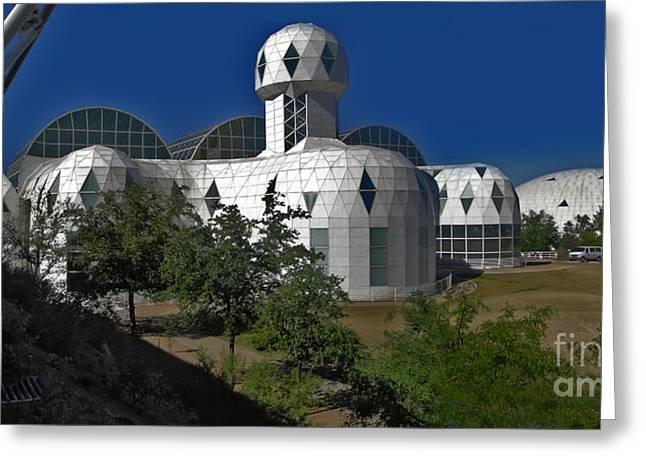Biosphere2 Greeting Card