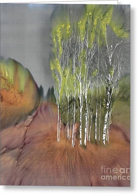 Birch Grove 1 Greeting Card