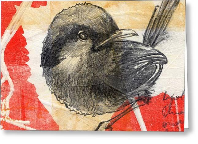 Bird 04 Greeting Card by Marco Sivieri
