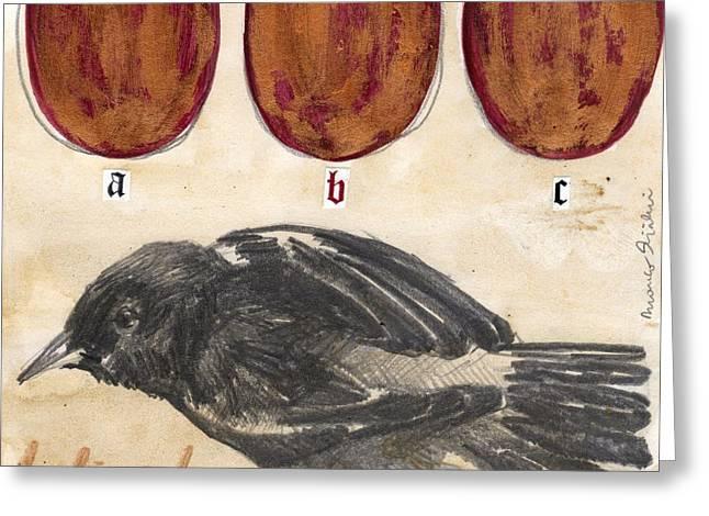 Bird 13 Greeting Card by Marco Sivieri