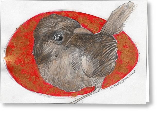 Bird 22 Greeting Card by Marco Sivieri
