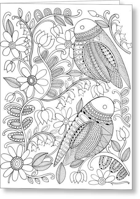 Bird Birds 1 Greeting Card