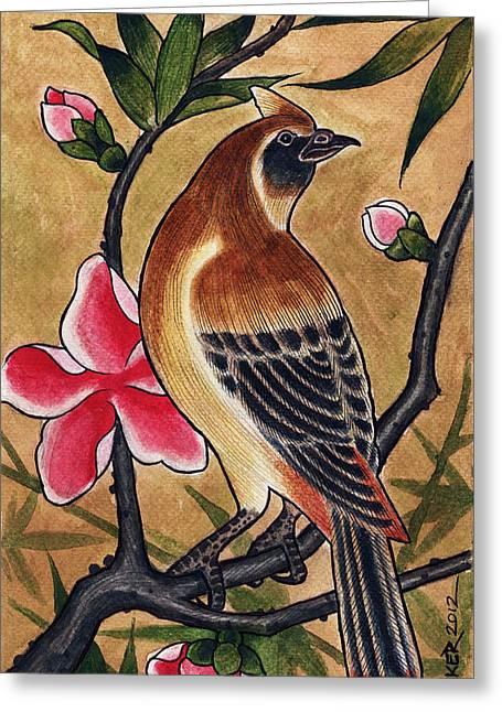 Bird Greeting Card by David Shumate