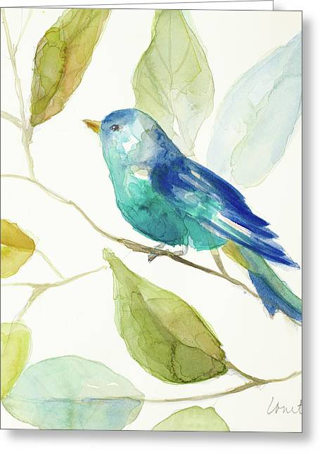Bird In A Tree I Greeting Card