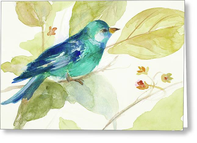 Bird In A Tree II Greeting Card